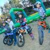 ちびっ子ライダー大興奮!トイの森でヨツバサイクル試乗会