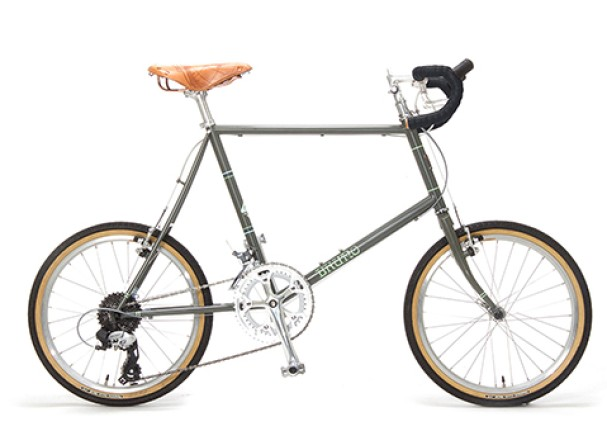BRUNO MINIVELO 20 ROAD DROP WORLD TRAVELER MODEL[マットグレー]