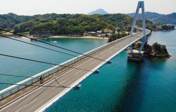 青い海と空の自転車天国「ゆめしま海道」ミニベロ・ポタリングの旅
