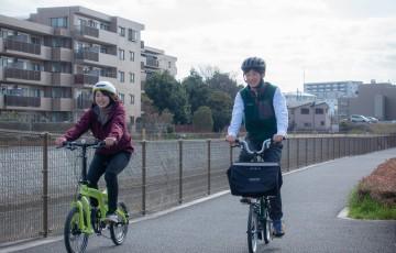 境川サイクリングコースをゆったり走る!トイファクトリー東京の試乗会コース紹介