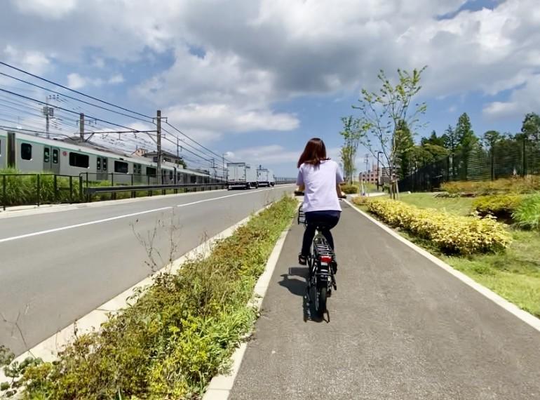 サイクリングを快適に、安全に!